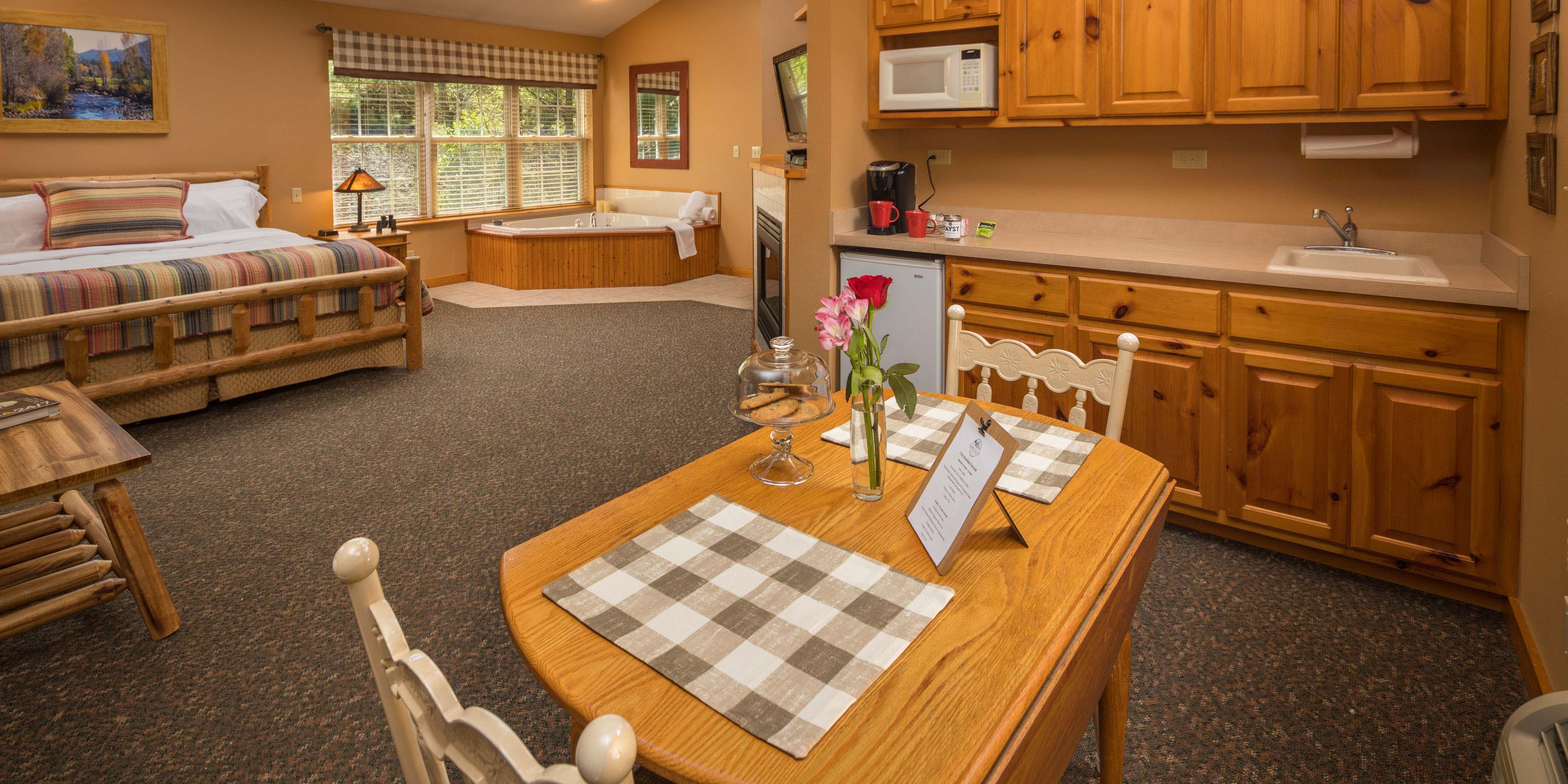 Picture of Hawk Valley Retreat cottage kitchen area